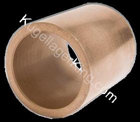 Gleitlagerbüchsen Sinterbronze GB 2x4x4